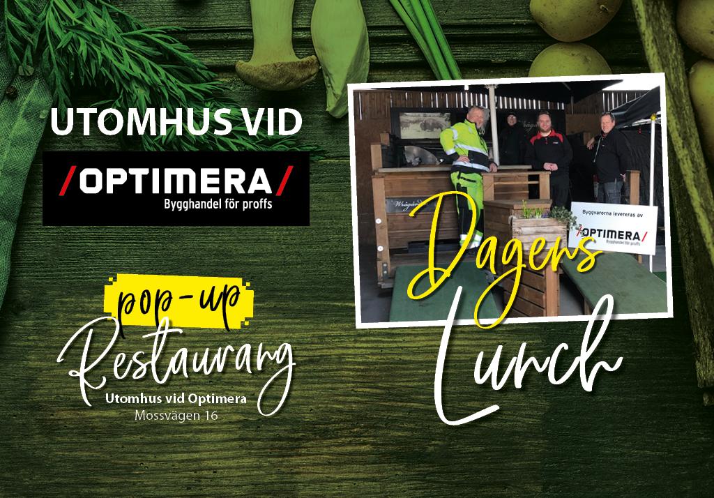 Pop-up Restaurang Optimera
